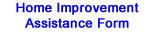Home Improvement Assistance Form